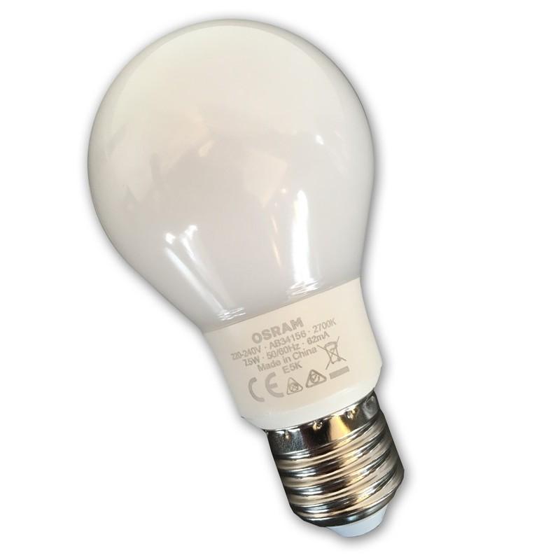Lampadina E27 LED 8W 2700°K