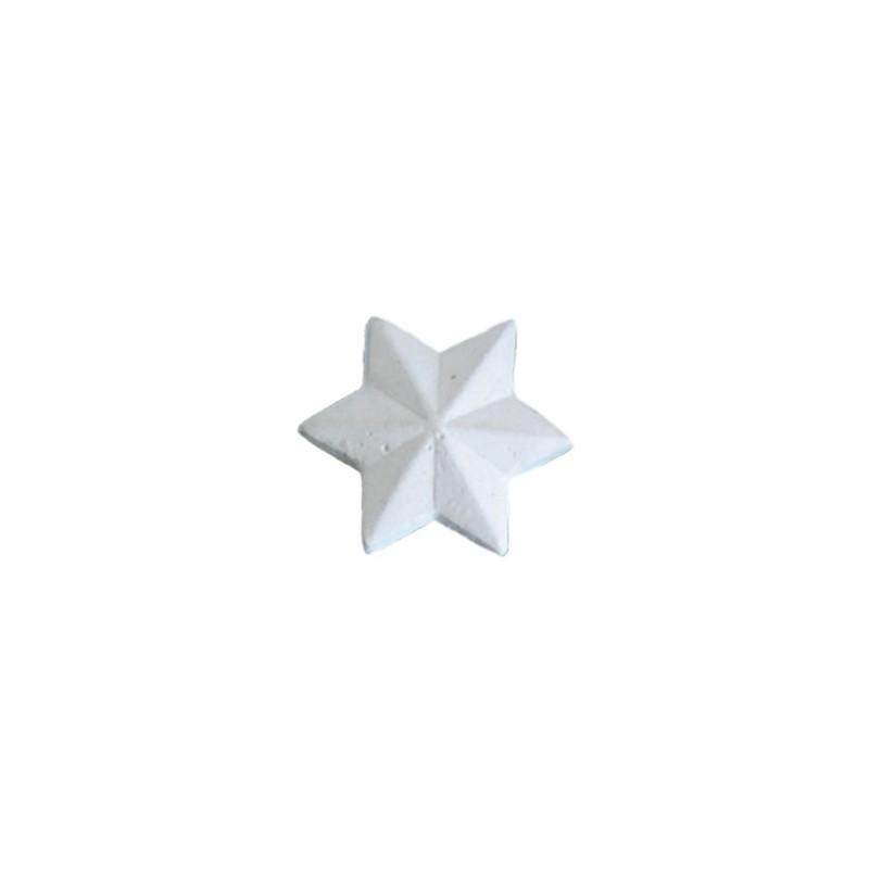 Ornement 298 Petit bouton étoile