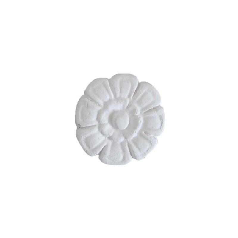 Ornement 294 Bouton floral 8 pétales