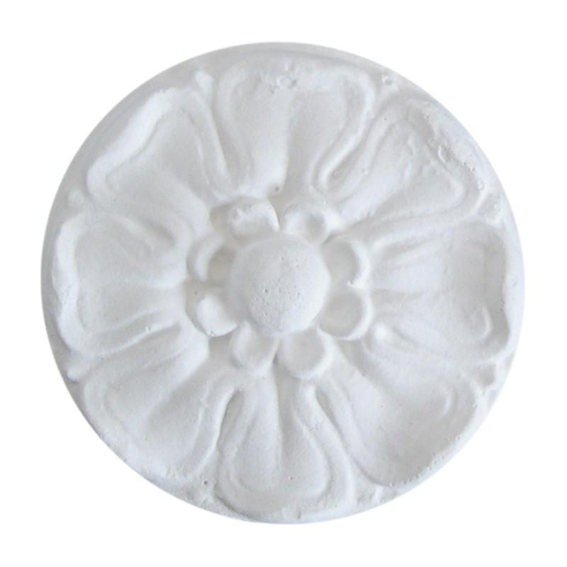 Ornement 290 Bouton floral rond moyen