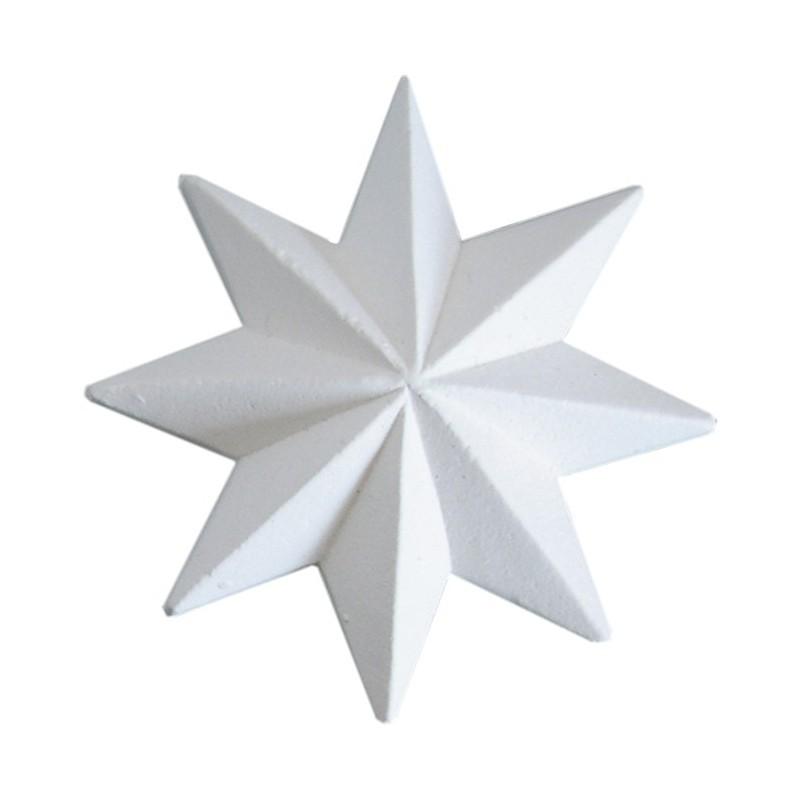 Ornamanto decoro 299 stella a 8 punte