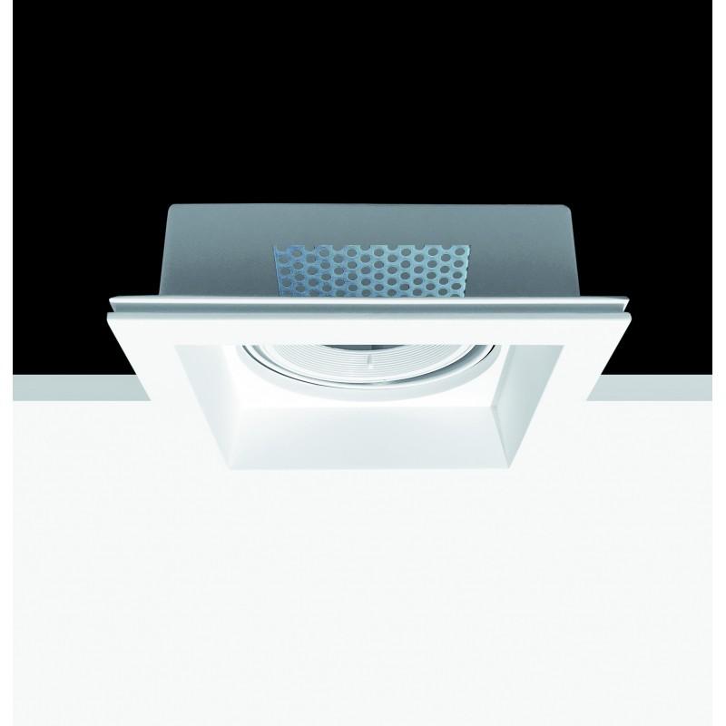 grand spot orientable carr encastr plafond invisible. Black Bedroom Furniture Sets. Home Design Ideas