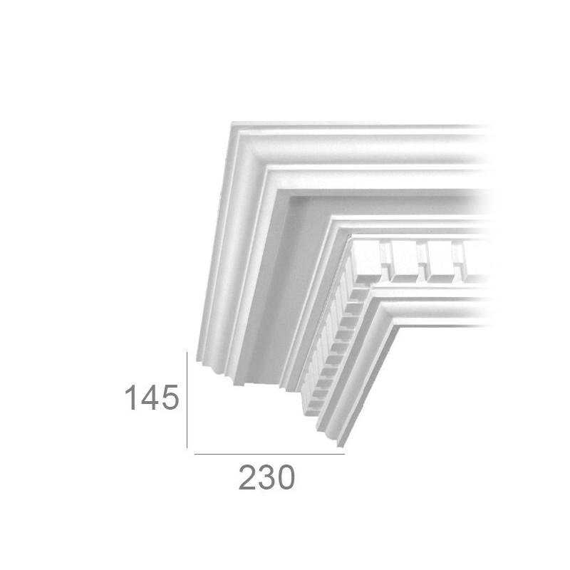 Cornice per soffitto lavorata 191A BASSA