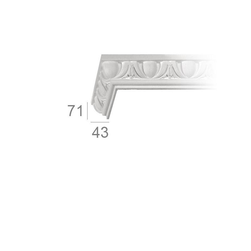 Cornice per soffitto lavorata 127