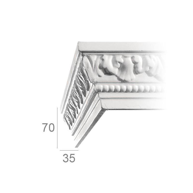Ornamented ceiling cornice 139