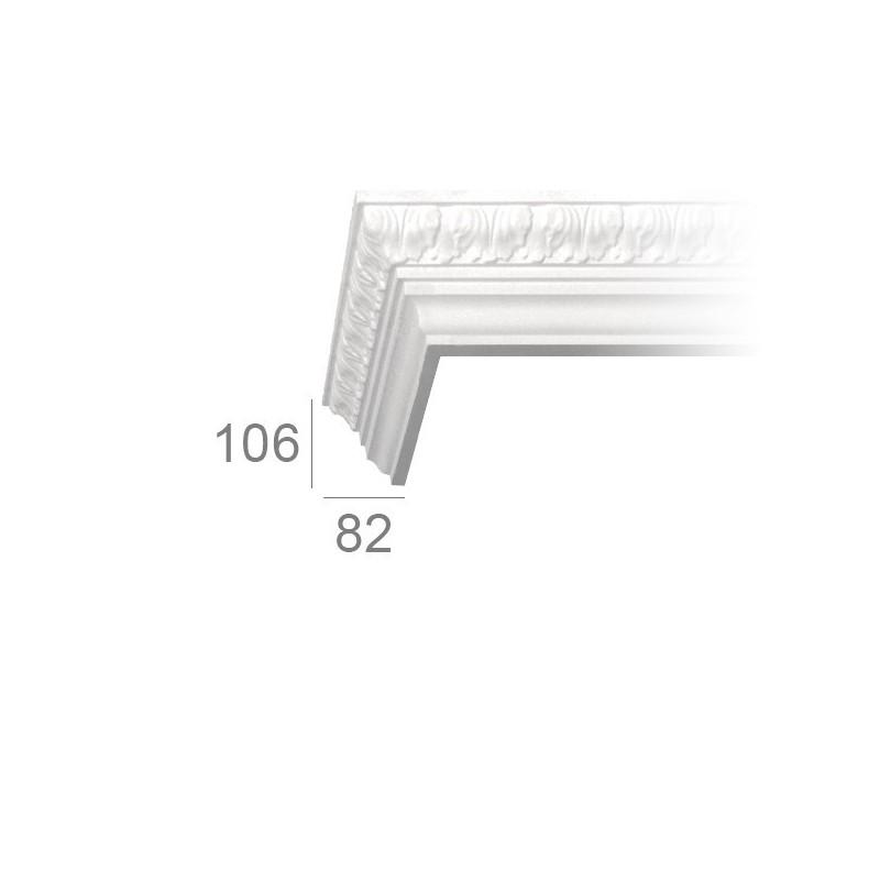 Ornamented ceiling cornice 196