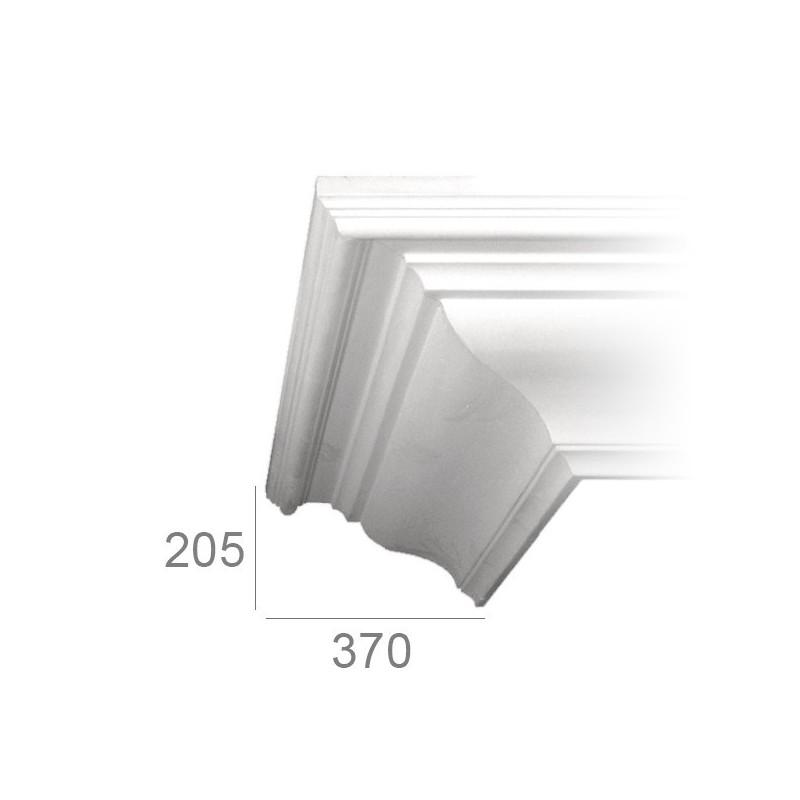 Ceiling cornice 198