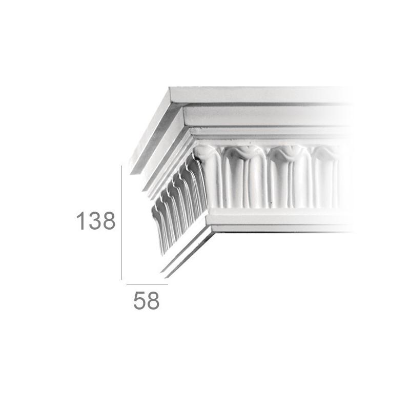 Ornamented ceiling cornice 359