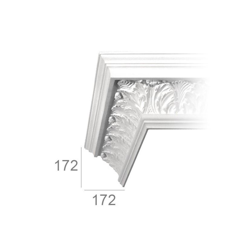 Ornamented ceiling cornice 409 ATENA