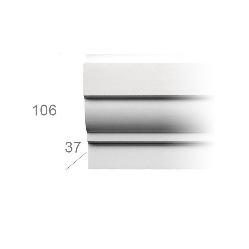 Moulure fenêtre de facade 3004