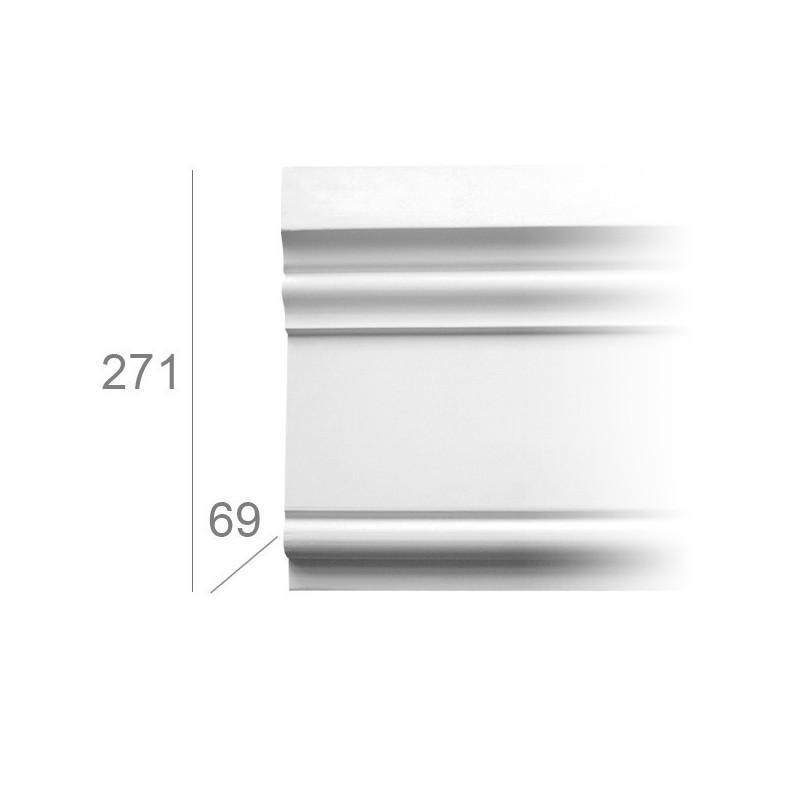 Moulure bandeau ref.3008