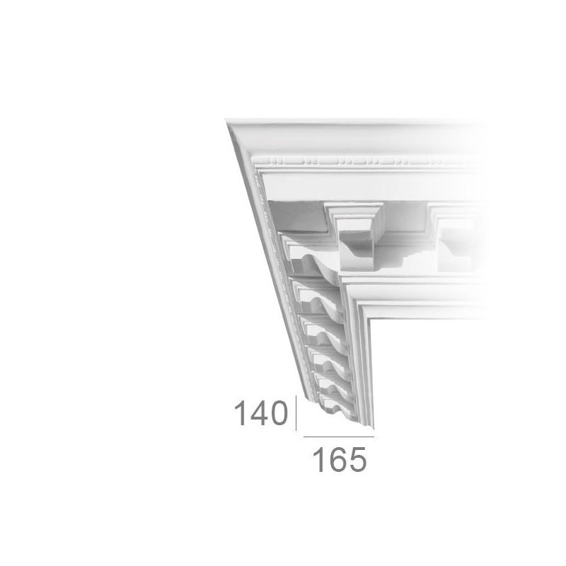 Ornamented ceiling cornice 189