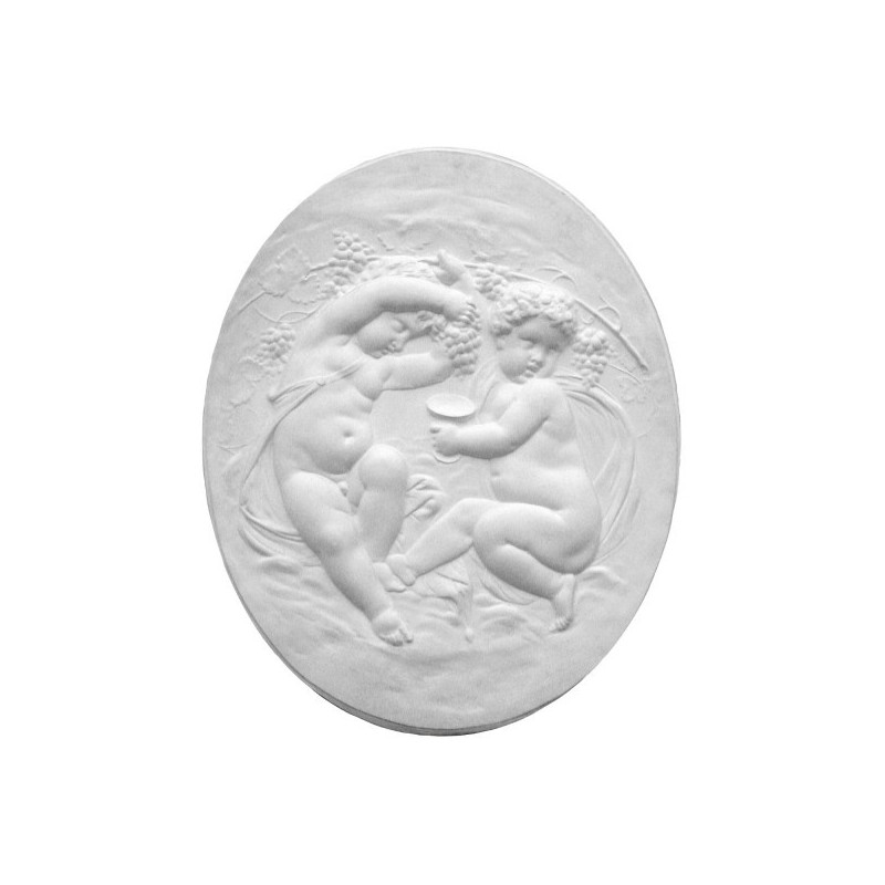 "Bas-relief 1008 ""Cherubs wine growers """