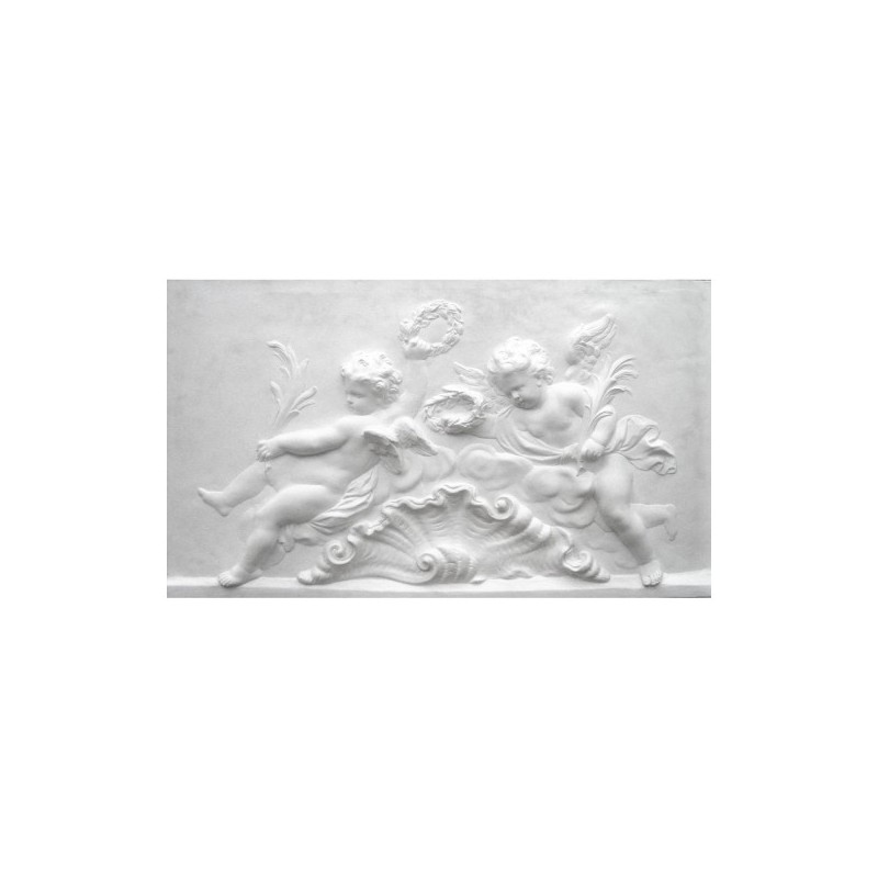 "Bas-relief 1005 ""Cherubs in the shell """